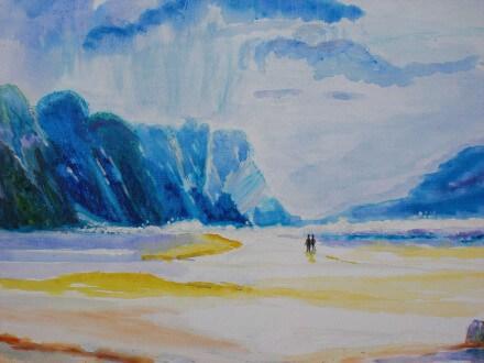 Strandscene 2