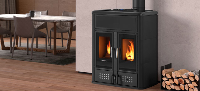 Nordic Fire Combi Plus CV Hout Pellet Combinatie