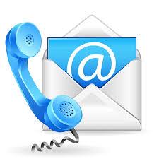 bereikbaarheid mail en telefoon