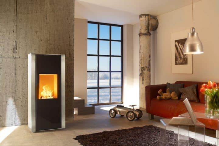 Spartherm Melinno pellet stoves (H2 O)